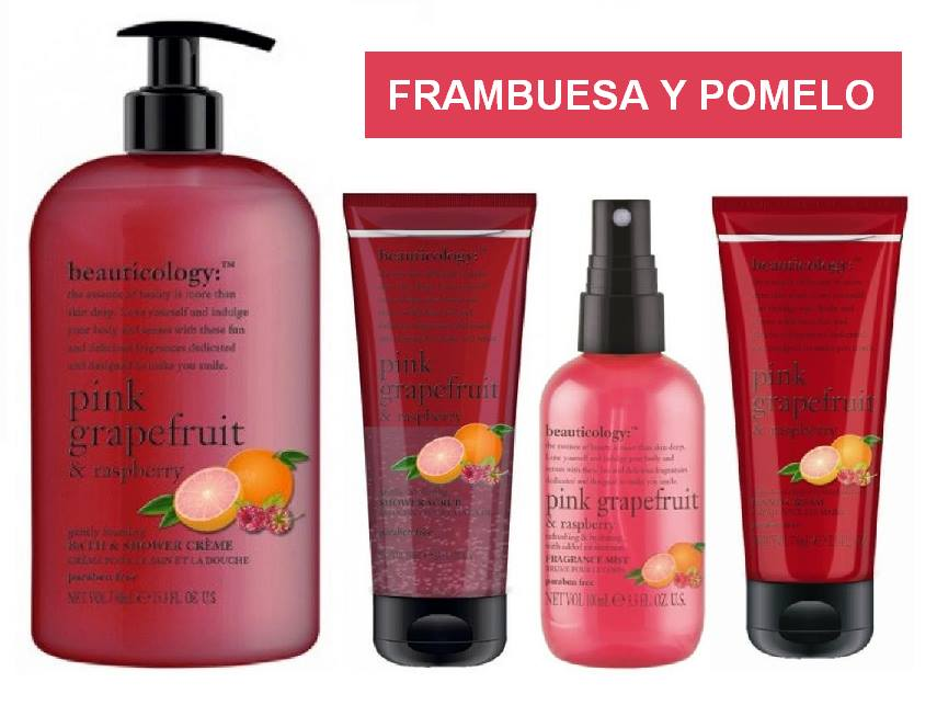 Beauticology Baylis and Harding - Frambuesa y Pomelo