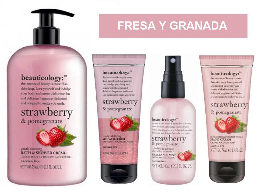 Beauticology Baylis and Harding - Fresa y Granada