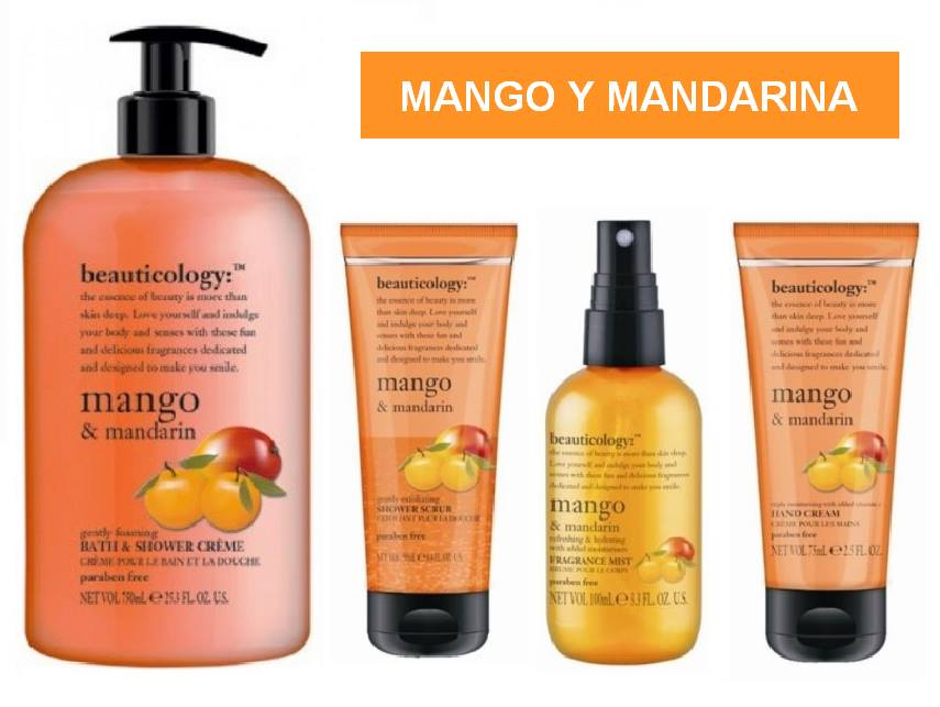 Beauticology Baylis and Harding - Mango y Mandarina