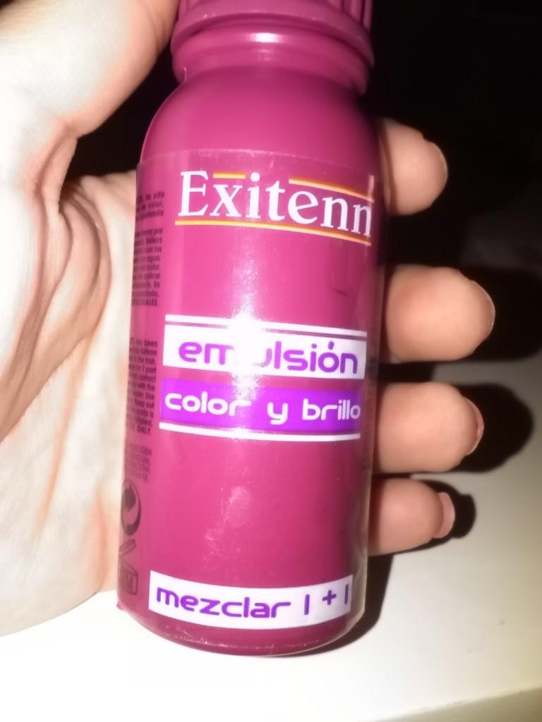 Emulsion color y brillo exitenn