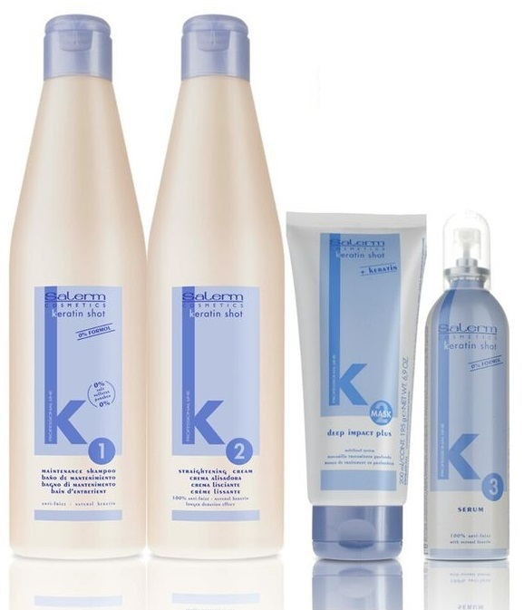 PRODUCTOS SALERM KERATIN SHOT