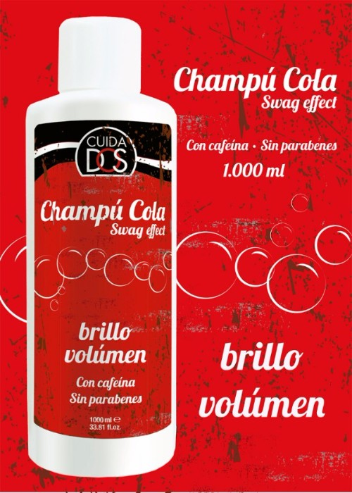 Champu Cola Valquer, Volumen y Brillo