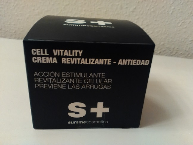 Crema facial antiedad nutritiva Cell Vitality SummeCosmetics