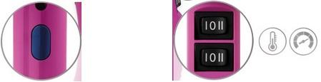 Secador Profesional Proline Touch Edition Ultron, boton aire frio, 2 velocidades 3 temperaturas