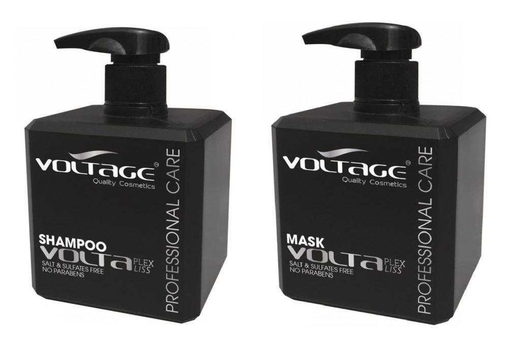 Voltaplex Shampoo - Voltage Cosmetics, tratamiento post alisado y trabajos tecnicos, reconstructor cabello dañado