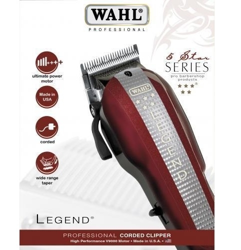 Wahl Legend 5 Star V9000 cortapelo profesional de alto rendimiento