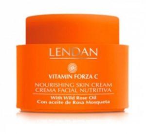 Crema nutritiva FORZA C Lendan - Línea cosmética facial Vitamin Forza C de LENDAN, con vitamina C para una piel luminosa y fresca, disponible en TOPCABELLO