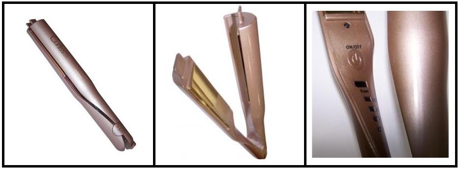 Curliss Gold by AGV - Plancha retorcida para rizos, ondas, bucles de la forma más rapida y sencilla.