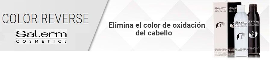 Color Reverse Elimina el color de oxidación del cabello, elimina tu tinte si no te ha gustado el resultado.