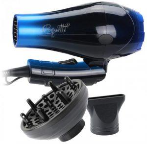 Secador Plegable de Viaje My Hair COQUETTE by AGV, incluye 1 boquilla y difusor gratis.