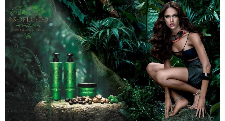 Orofluido Amazonia, nuevo ritual de belleza de REVLON de la selva amazonica para cabello dañado y debilitado