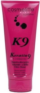 instant 3 y keratin 9, mascarillas nutritivas y reparadoras sin aclarado de Cosmelitte Profesional