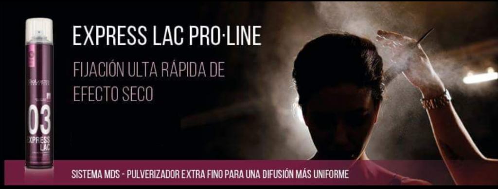 Nueva Laca EXPRESS LAC Proline de Salerm, fijación ultra rápida con efecto seco