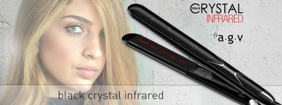 BLACK CRYSTAL by AGV , infrarrojos, para unas ONDAS Y BUCLES IMPECABLES, LISOS PERFECTOS, PULIDO DE ESPEJO